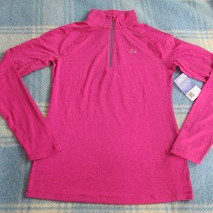 MERINO BLEND BY PARADOX SMALL ZIP UP NWT